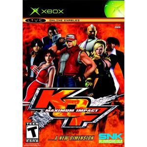 King of Fighters Maximum Impact Maniax Video Game for Microsoft Xbox