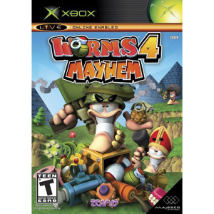 Worms 4 Mayhem Video Game for Microsoft Xbox