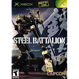 Steel Battalion Video Game for Microsoft Xbox