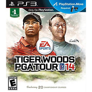 Tiger Woods PGA Tour 14 Video Game for PlayStation 3