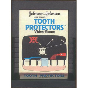 Tooth Protectors Video Game for Atari 2600