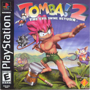 Tomba! 2 The Evil Swine Return Video Game for Sony PlayStation