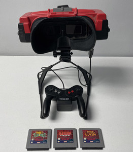 Virtual Boy System, Controller, and Games - Free with rewards points