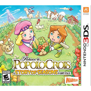 Return to PopoloCrois A Story of Seasons Fairytale Video Game for Nintendo 3DS