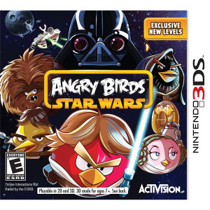 Angry Birds Star Wars Video Game for Nintendo 3DS