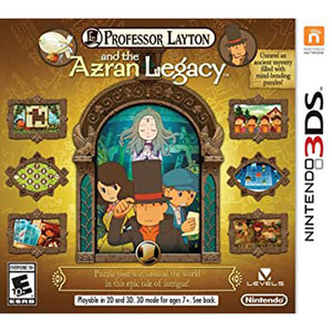 Professor Layton and the Azran Legacy Video Game for Nintendo 3DS