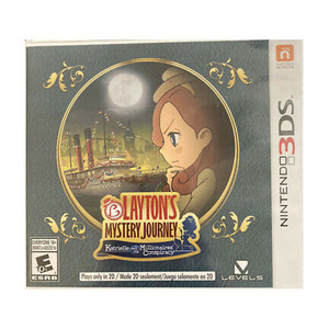 Layton's Mystery Journey Video Game for Nintendo 3DS