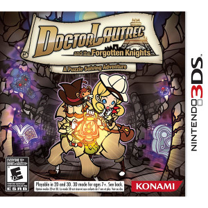 Doctor Lautrec and the Forgotten Knights Video Game for Nintendo 3DS