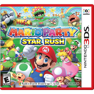 Mario Party Star Rush Video Game for Nintendo 3DS