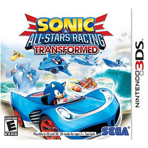 Sonic & All Stars Racing Transformed Video Game for Nintendo 3DS
