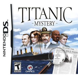 Titanic Mystery Video Game for Nintendo DS