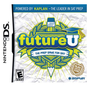 FutureU The Prep Game for SAT Video Game for Nintendo DS