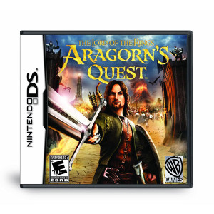 Lord of the Rings Aragorn's Quest Video Game for Nintendo DS