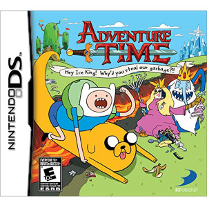 Adventure Time Hey Ice King! Video Game for Nintendo DS