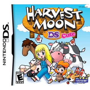 Harvest Moon DS Cute Video Game for Nintendo DS