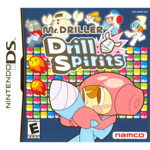 Mr. Driller Drill Spirits Video Game for Nintendo DS