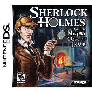 Sherlock Holmes and the Mystery of Osborne House Video Game for Nintendo DS