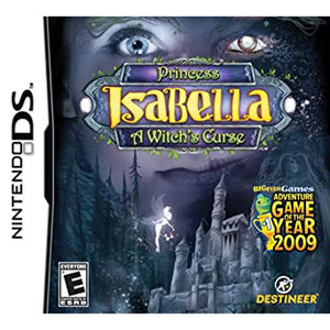 Princess Isabella A Witch's Curse Video Game for Nintendo DS