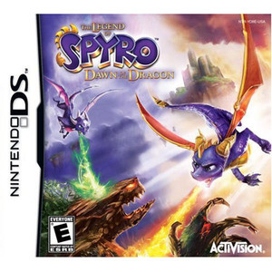 Legend of Spyro Dawn of the Dragon Video Game for Nintendo DS