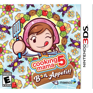 Cooking Mama 5 Bon Appetit! Video Game for Nintendo DS