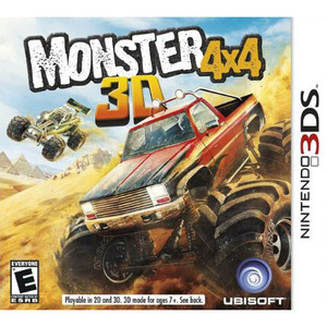 Monster 4x4 3D Video Game for Nintendo 3DS