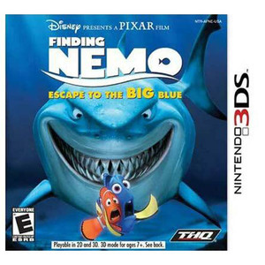 Finding Nemo Special Edition Video Game for Nintendo 3DS