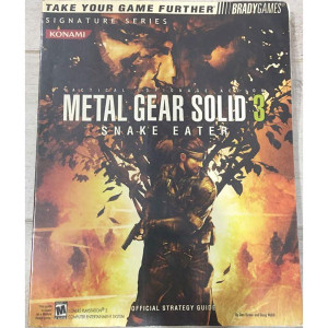 Metal Gear Solid 3 Snake Eater - Brady Games Signature Series Guide