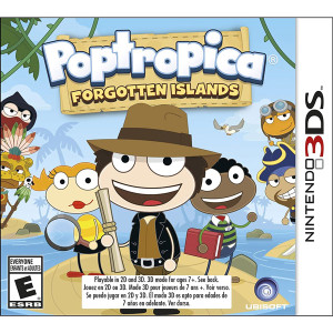 Poptropica Forgotten Sands Video Game for Nintendo 3DS