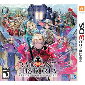 Radiant Historia Perfect Chronology Video Game for Nintendo 3DS