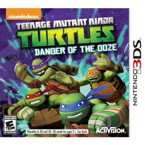 Teenage Mutant Ninja Turtles Danger of the Ooze Video Game for Nintendo 3DS