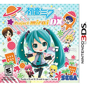 Project Mirai DX Video Game for Nintendo 3DS