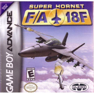 Complete Super Hornet F/A 18F Video Game for GBA
