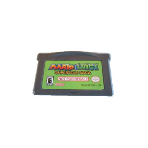 Mario & Luigi Superstar Saga Not for Resale- GameBoy Advance Game