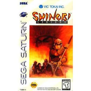 Shinobi Legions Video Game for Sega Saturn