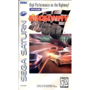 Highway 2000 Video Game for Sega Saturn