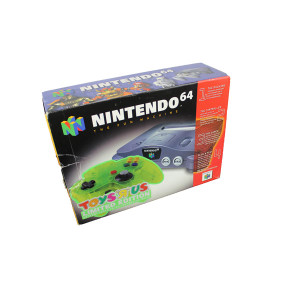 Complete N64 System with Toys R Us Limited Edition Extreme Green Controller