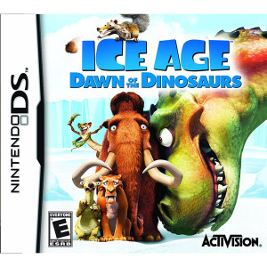 Ice Age Dawn of the Dinosaurs Video Game for Nintendo DS