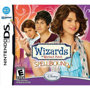 Wizards of Waverly Place Spellbound Video Game for Nintendo DS