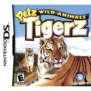 Petz Wild Animalz Tigerz Video Game for Nintendo DS