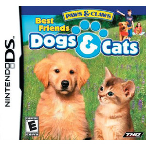 Paws & Claws Dogs & Cats Best Friends Video Game for Nintendo DS