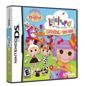 Lalaloopsy Carnival of Friends Video Game for Nintendo DS
