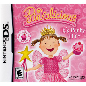 Pinkalicious It's Party Time! Video Game for Nintendo DS