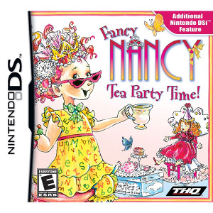 Fancy Nancy Tea Party Time! Video Game for Nintendo DS