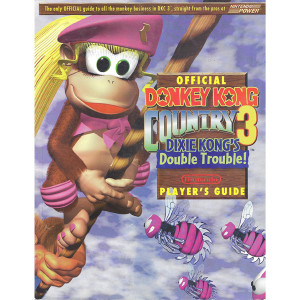 Donkey Kong Country 3 Dixie Kong's Double Trouble! - Official Nintendo Power Players Guide