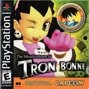 Misadventures of Tron Bonne Video Game for Sony PlayStation