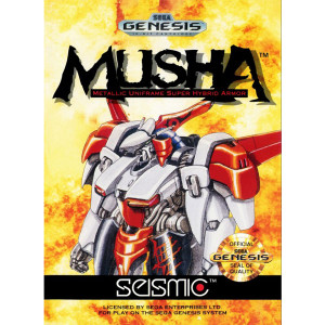 Musha Video Game for Sega Genesis