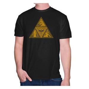 Legend of Zelda Gold Triforce - Officially Licensed T-Shirt