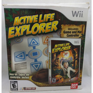 Complete Active Life Explorer w/ Mat Controller - Wii Accessory