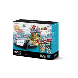 Complete Super Mario 3D World 32GB Deluxe Set in Box - Wii U