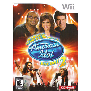 Karaoke Revolution Presents: American Idol Encore 2 Video Game for Nintendo Wii